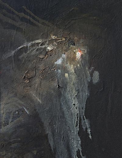 Emanuele Convento - Cascata Onirica, 2009, olio su tavola, cm 42 x 30