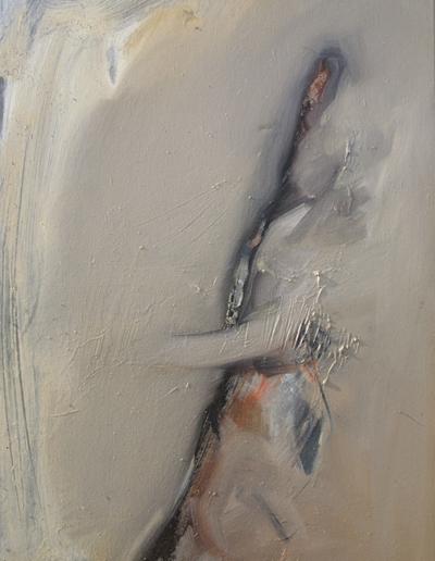 Emanuele Convento - In riposo, 2009, olio su tela, cm 68 x 49