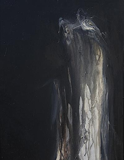 Emanuele Convento - Medusa, 2009, olio su tavola, cm 70 x 52