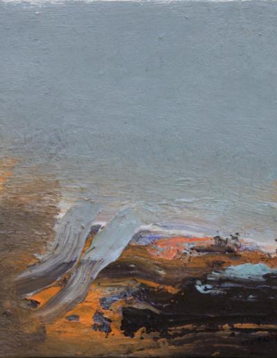 Emanuele Convento - Onda spezzata, 2020, olio tavola, cm 24 x 31