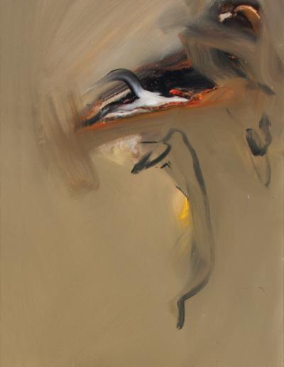 Emanuele Convento - Poetic Rush, 2008, olio su tela, cm 80 x 50